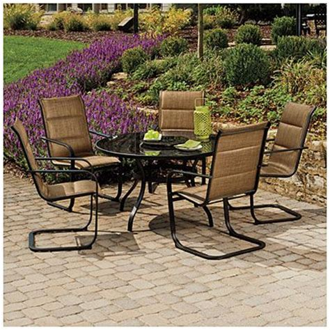 wilson and fisher patio furniture manufacturer wilson fisher 174 easton 6 dining set home design