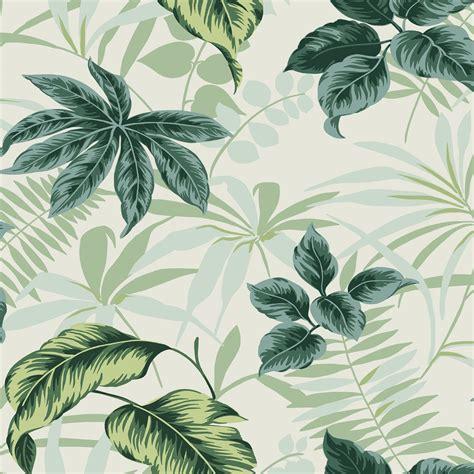 bathroom diy wallpaper plant leaves green leaves