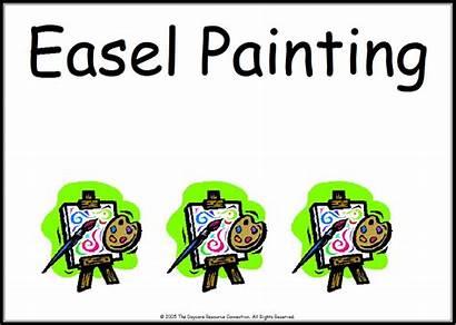 Preschool Clipart Signs Center Centers Classroom Printable