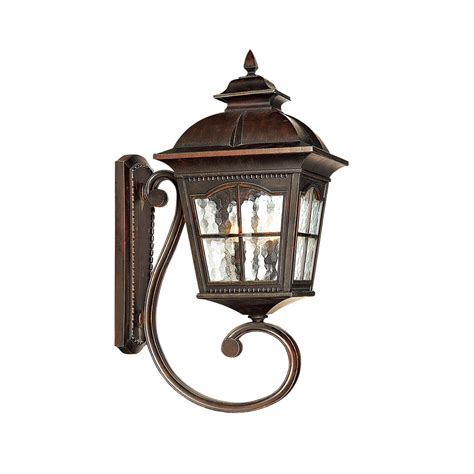 searchlight 1571br pompeii brown outdoor wall light