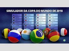 Simulador da Copa do Mundo 2018 globoesportecom