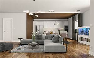 Awesomely stylish urban living rooms for Living room furniture visualizer