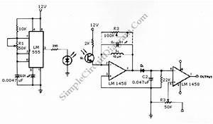 555 infrared transmitter receiver simple circuit diagram With ir transmitter circuit diagram
