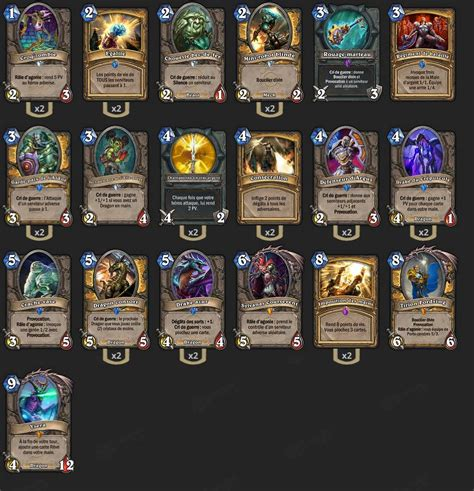 deck paladin dragon milithium brm hearthstone heroes
