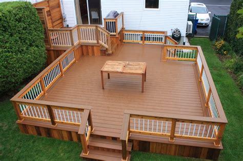 patio deck art design 174 contemporary deck montreal