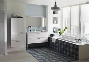 Decoration De Salle De Bain : 15 salles de bains grises elle d coration ~ Teatrodelosmanantiales.com Idées de Décoration
