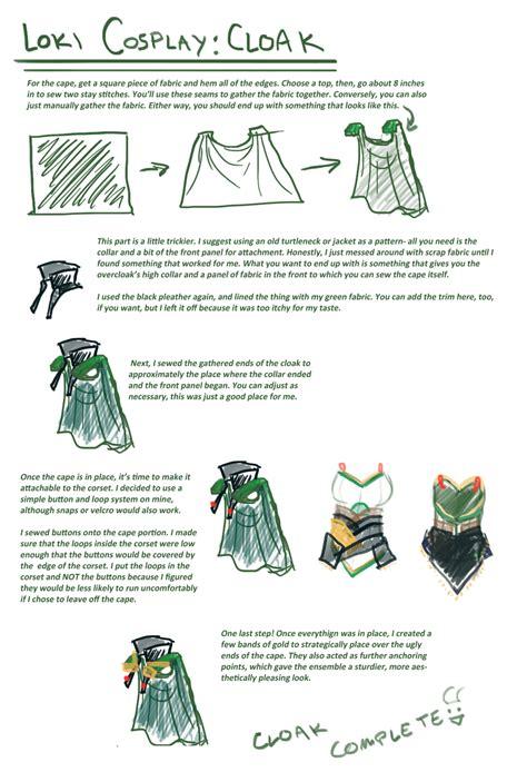 Loki Cosplay Guide Cape By Sirladysketch On Deviantart
