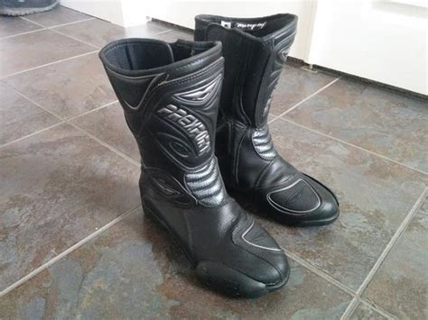 used kids motocross boots kid 39 s prexport leather motorcycle boots size us 5 saanich