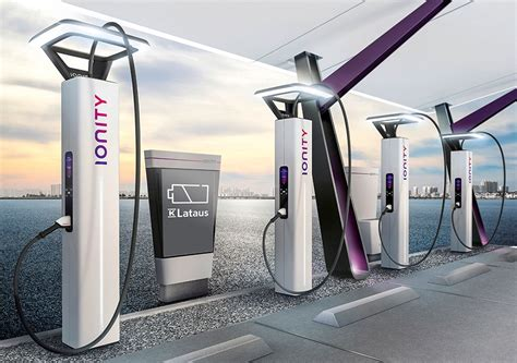 Electric Car Charging Stations by K And Ionity To Bring High Power Electric Car