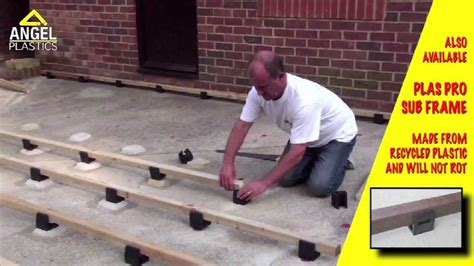 how to install millboard garden decking by plastics
