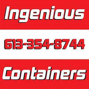 Ingenious Storage & Containers Inc, Napanee, ON - Cylex