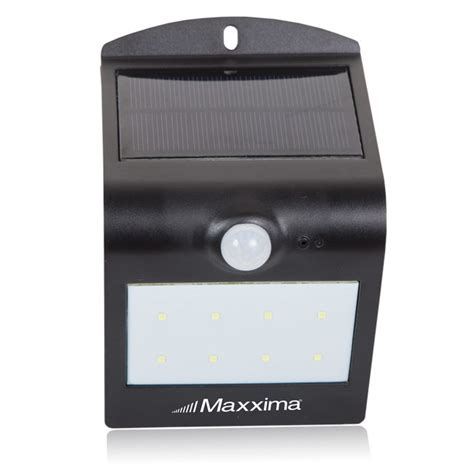 led solar outdoor wall light front and rear leds w dusk