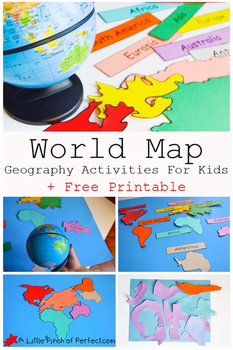 world map geography activities for free printable 201 | 2015 3 WorldMapGeographyActivitiesForKidsALittlePinchofPerfect Title3