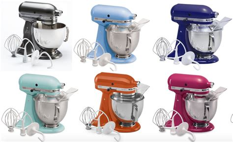 Kitchenaid Attachments At Kohl S by Kohl S Kitchenaid Stand Mixers As Low As 182