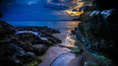 Wallpaper Summer, 4k, Hd Wallpaper, Cloud, Sunset, Sea