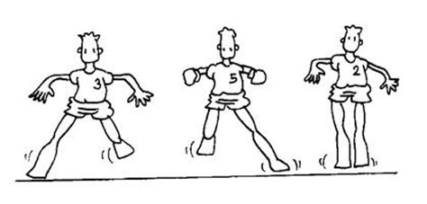 dibujo de educacion fisica de desplazamiento cuaderno de ef raquel gordo 2 186 c el