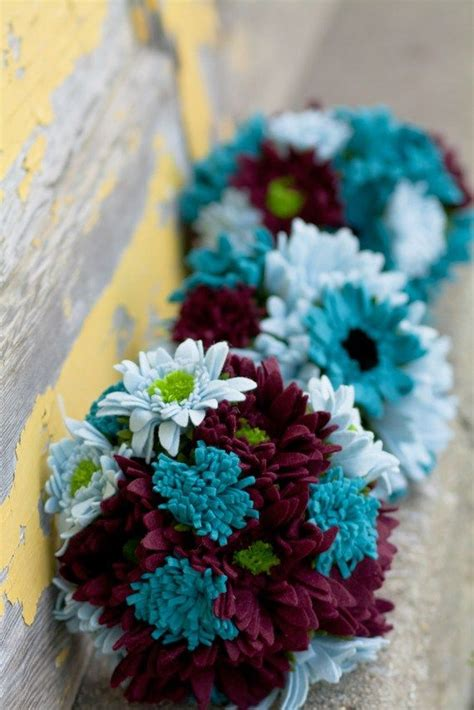 teal wedding bouquet 1000 ideas about teal wedding flowers on teal 7931