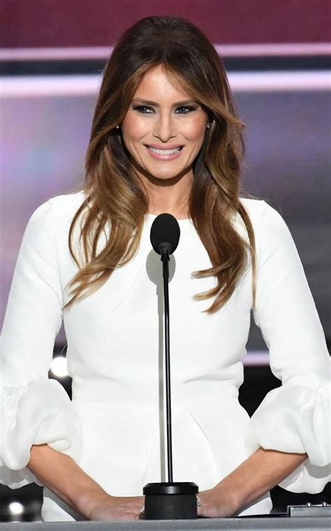 wanted   approachable melania trumps hair
