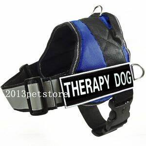 THERAPY DOG Harness Reflective Walking Service Dog Vest ...