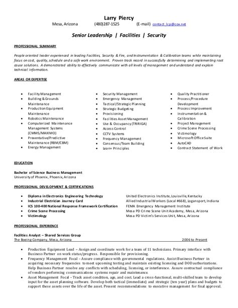 Generic Resume Template Exles by Generic Resume 11132014