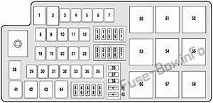 Fuse Box Diagram Mercury Montego  2005