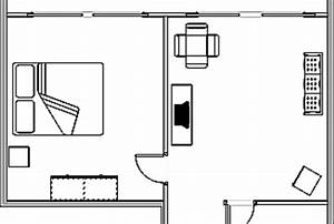 create a simple and professional single page floor plan ...