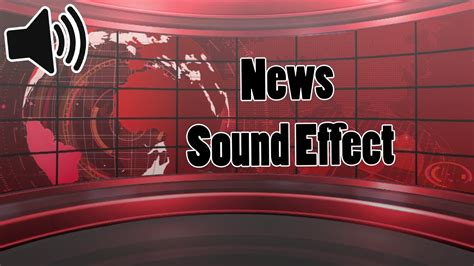 News Sound Effects - YouTube