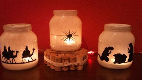 reyes magos pesebre navidad todo reciclando frascos