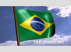 Brazil's Flag in Blender 3D Bandeira do Brasil no