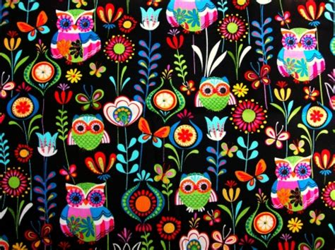 Whimsical Animal Wallpaper - whimsical owls birds animals background wallpapers on