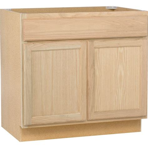 home depot sink cabinet assembled 36x34 5x24 in sink base kitchen cabinet in