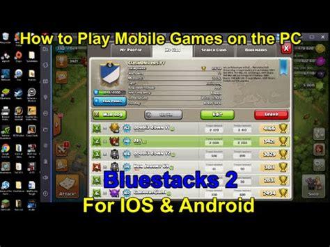 bluestacks    play mobile games  pc  ios