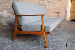 Canapé Scandinave Vintage : canap scandinave vintage tissu kvadrat r nov ~ Melissatoandfro.com Idées de Décoration
