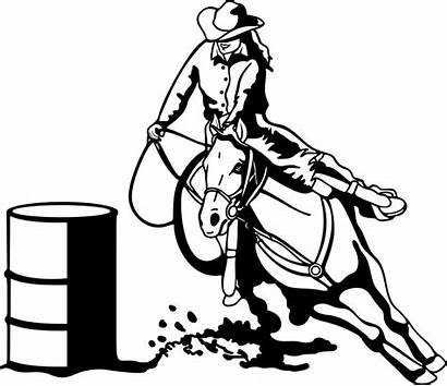 Barrel Racing Clipart Clip Clipground