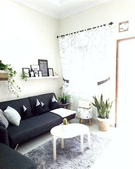 sofa minimalis  ruang tamu kecil  meja ruang