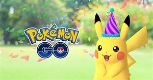 pokemon go celebrates pokemon day with party hat pikachu pokemon center reveals new line of figures