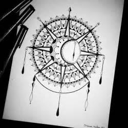 cool cartilage earrings sun and moon mandala drawing recherche