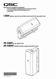 Ad-s52 Manuals