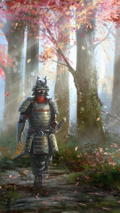 samurai artwork warriors wallpaper
