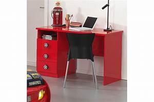 Bureau De Chambre Pas Cher : bureau enfant rouge ~ Teatrodelosmanantiales.com Idées de Décoration
