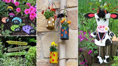 120 cute and easy diy garden crafts ideas diy garden youtube