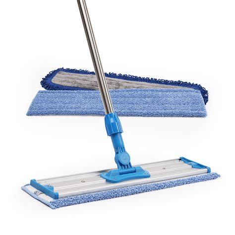 how to use a mop professional microfiber mop kit clean quickly without chemicals