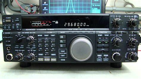 kenwood ts sat hf transceiver rx test alpha telecom