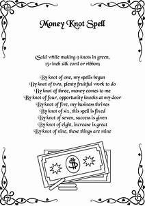 Money Knot Spell