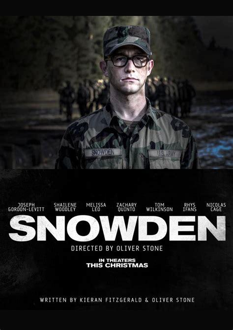 Snowden 2016 full movie