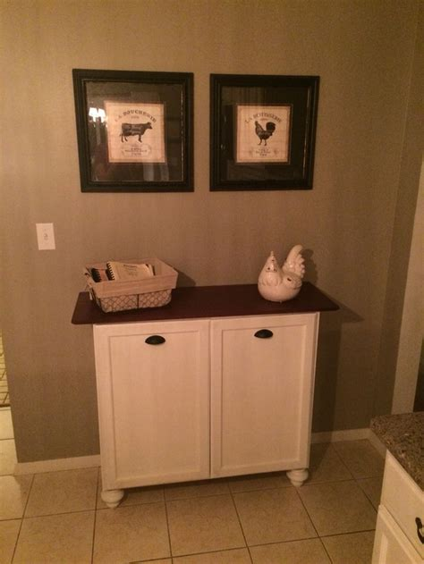 Cabinet Trash Can Home Depot by 25 Best Ideas About Trash Can Cabinet On