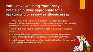 Synthesis Essay Tips Public Policy Essays Synthesis Essay Tips Apply  Ap English  Synthesis Essay Examples