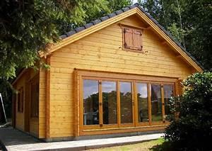 Wochenendhaus Bauen Preise : inhortas holzhaus mit ger umigen schlafboden und glasfaltt r ein gartenhaus in solider ~ Sanjose-hotels-ca.com Haus und Dekorationen