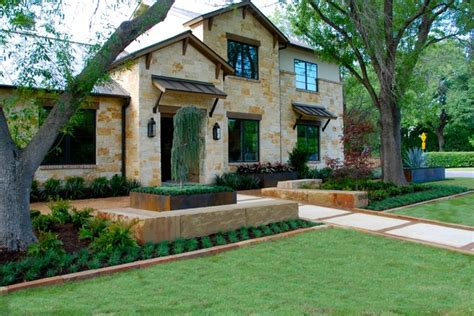 floor and decor dallas modern ranch style home mediterranean landscape