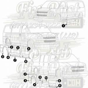 34 Chevy Express 3500 Parts Diagram